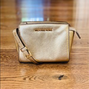 MICHAEL KORS MICHAEL Selma Mini Messenger Bag
